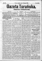 Gazeta Toruńska 1900, R. 34 nr 254