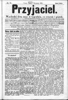 Przyjaciel : pismo dla ludu 1896 nr 28