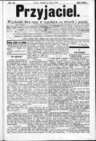 Przyjaciel : pismo dla ludu 1896 nr 39