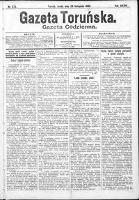 Gazeta Toruńska 1900, R. 34 nr 273