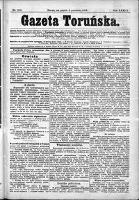 Gazeta Toruńska 1899, R. 33 nr 282