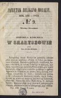 Historya kościoła w Skaryszowie. [1] - Gacki, Józef (1805-1876)