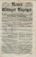 Neuer Elbinger Anzeiger, Nr. 425. Sonnabend, 18. Dezember 1852 - Redaktionsgruppe