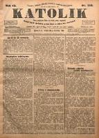 Katolik, 1910, R. 43, nr 113