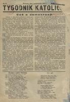 Tygodnik Katolicki. R. 1, 1944 nr 3/4 (1 X)