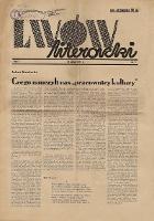 Lwów Literacki 1937 R.I nr 2