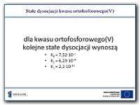 Stałe dysocjacji kwasu ortofosforowego(V) - Paśko, Jan Rajmund (1943- )