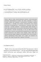 Postfeminizm, kultura popularna ikonserwatywna modernizacja - Nowak, Samuel Jonatan