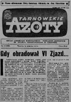 Tarnowskie Azoty : Organ Samorządu Robotniczego Zakładów Azotowych im. Feliksa Dzierżyńskiego. R. 1971