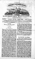 Börsen-Nachrichten der Ost-See : allgemeines Journal für Schiffahrt, Handel und Industrie jeder Art. 1836 Nr. 70