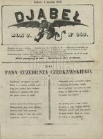 Djabeł. 1875, nr 147 (1 XII)
