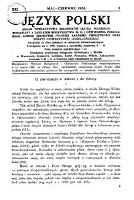 Język Polski. 1936, nr 3 (maj/czerwiec)