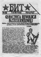 """BIT (Biuletyn Informacyjny """"Topolówka""""), nr 28 (85.04.23)"""