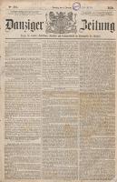 Danziger Zeitung: Organ für Handel..., 1862.04.23 nr 1270