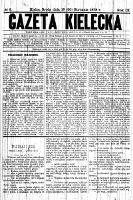 Gazeta Kielecka, 1878, R.9, nr 77