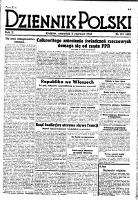 Dziennik Polski. 1946, nr 155 (6 VI) = nr 481