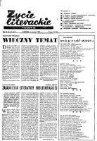 Życie Literackie. 1959, nr 49 (6 XII) = nr 411