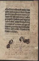 Questiones libror[um] de anima [...]Johannis Versoris [...] resolutae - Jan z Głogowa (1445-1507)