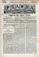 PRAWDA : tygodnik polityczny, społeczny i literacki 1889 R. IX Nr 38