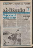Zbliżenia : tygodnik społeczno-polityczny, 1989, nr 8