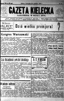 Gazeta Kielecka, 1928, R.59, nr 4 - Żelewski, Jan