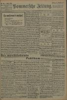 Pommersche Zeitung : organ für Politik und Provinzial-Interessen. 1909 Nr. 216