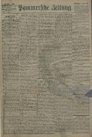 Pommersche Zeitung : organ für Politik und Provinzial-Interessen. 1896 Nr. 285