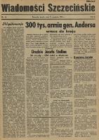 Wiadomości Szczecińskie : biuletyn Urzędu Informacji i Propagandy na Okręg Pomorze Zachodnie. R.1, 1945 nr 24