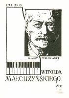 Ex Libris Witolda Małcużyńskiego - Kelma, Czesław