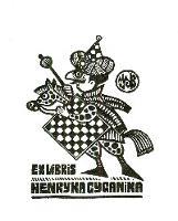 Ex Libris Henryka Cyganika - Szczęsny-Batura, Juliusz