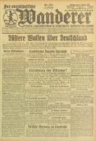 Der Oberschlesische Wanderer, 1923, Jg. 95, Nr. 231