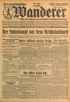 Der Oberschlesische Wanderer, 1928, Jg. 101, Nr. 256