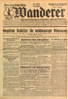 Der Oberschlesische Wanderer, 1928, Jg. 101, Nr. 296