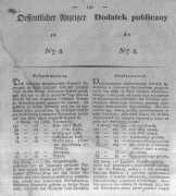Oeffentlicher Anzeiger zum Amtsblatt No.8. der Königl. Preuss. Regierung zu Bromberg. 1833