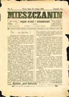 Mieszczanin : organ miast i miasteczek. 1905, R.6, nr 04