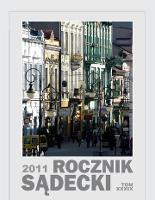 Rocznik Sądecki. 2011 r., T. 39