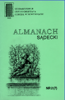 Almanach Sądecki. 1994, nr 2(7)