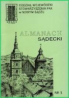 Almanach Sądecki. 1992, nr 1