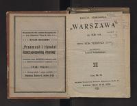 "Księga Adresowa ""Warszawa"" Na ... Rok"