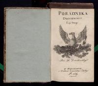 Poradnik domowy. Cz. 2 - Dziarkowski, Jacek August (1747-1828)