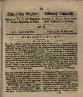Oeffentlicher Anzeiger. 1854.05.23 Nro.21