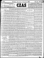 Czas, R.46, nr 256 (9 listopada 1893)