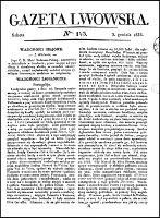 Gazeta Lwowska, 1836, nr 143 (3 grudnia) + dod.