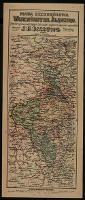 Mapa szczegółowa województwa śląskiego : [Ślązk Górny, Cieszyński, Zagłębie Dąbrowskie i pogranicza sąsiednich województw - Bazewicz, Józef Michał (ca 1862-1928)