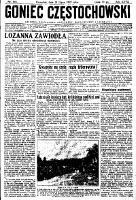 Goniec Częstochowski, 1932, R. 27, No 165