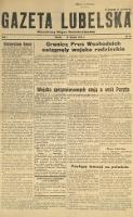 Gazeta Lubelska : niezależny organ demokratyczny. R. 1, nr 14 (19 sierpnia 1944)