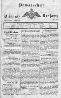 Powszechny Dziennik Krajowy 1830 II, Nr 149