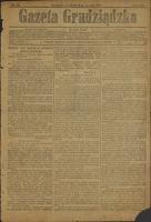 Gazeta Grudziądzka 1917.09.18 R.23 nr 110 + dodatek