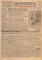 Głos Wybrzeża : pismo Polskiej Partii Robotniczej, 1948.05.30 nr 147
