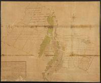 Plan posiadłości miejskich - Auen. F.